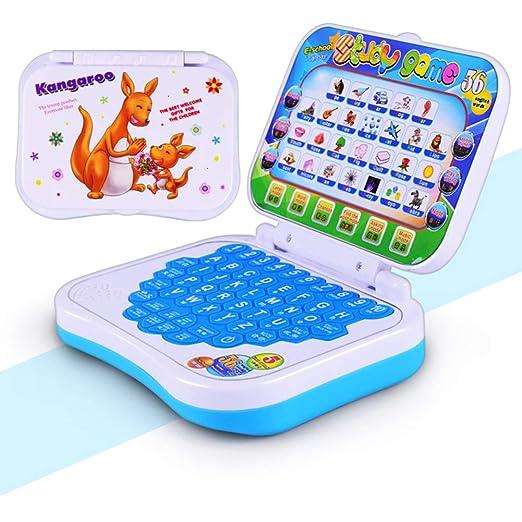 XuBa - Máquina de Aprendizaje de Idiomas multifunción para niños, portátil, Juguete Educativo temprano, para Ordenador, Tableta de Lectura, para cumpleaños, ...
