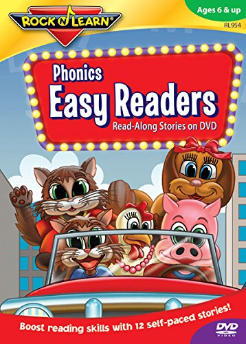 Phonics Easy Readers DVD (Children's Halloween Movies Rated G)