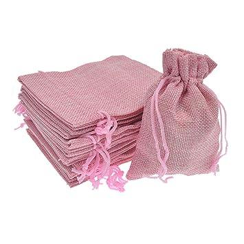 Amazon.com: Bezall - 20 bolsas de yute, con cordón, para ...
