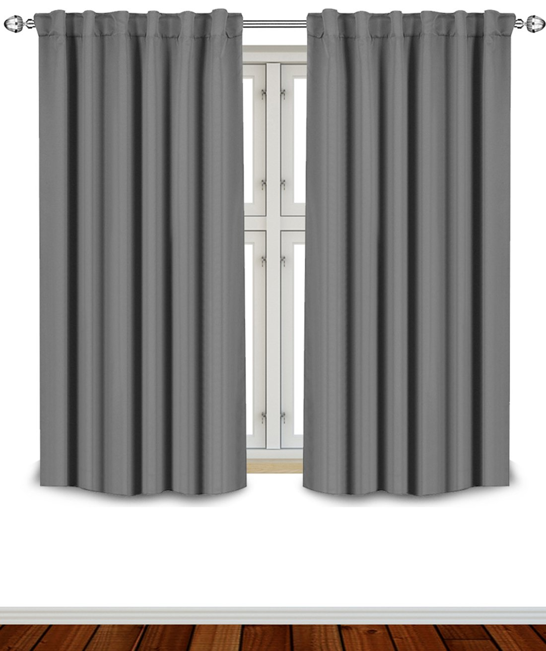 Emejing Grey Blackout Curtains Contemporary - Design Ideas 2017 ...