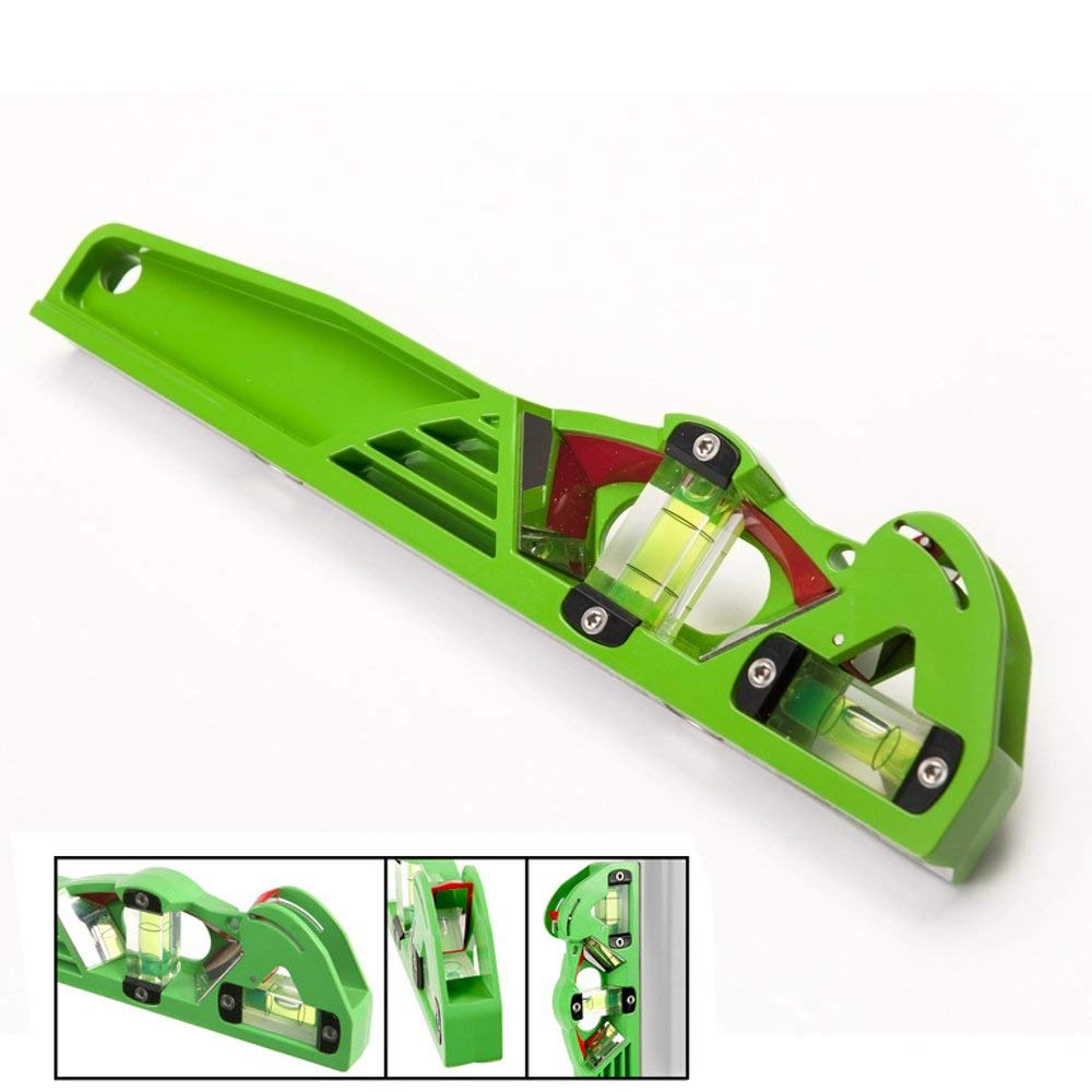 Scaffolders Spirit Level 250mm Proview Dragonfly by X-Pro Magnetic Adjustable View Level