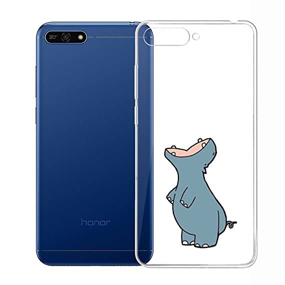 Amazon.com: IJIA Case for Huawei Y6 2018 (5.7 ...