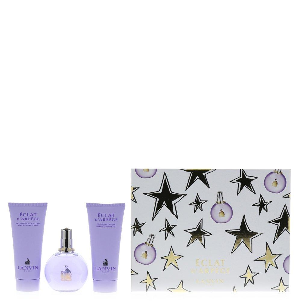 COFFRET / SET LANVIN Eclat d'Arpege Eau de parfum 100ml + BODY LOTION - LAIT CORPS 100ml + SHOWER GEL - GEL DOUCHE 100ml
