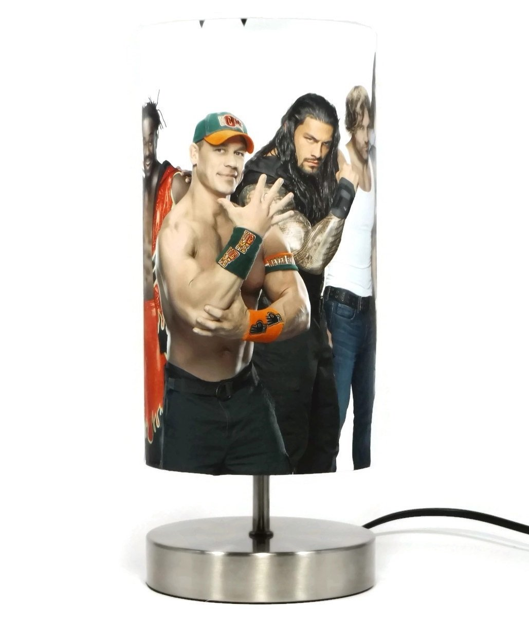 Wwe Wrestling Lamp Light Lampshade Lamps Boys Children S Kids John Cena Bedroom Night Light Accessories Gifts Buy Online In Taiwan At Desertcart Tw Productid 56260335