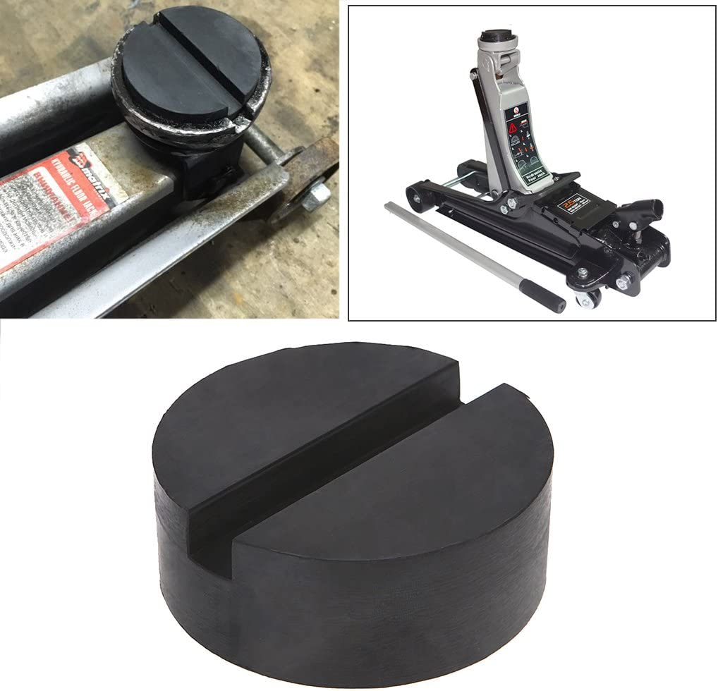 Brucelin Cric De Voiture Car Jack Caoutchouc Pad Frame Protector Guard Adapter Jacking Pad Pad Outil Pad Jack