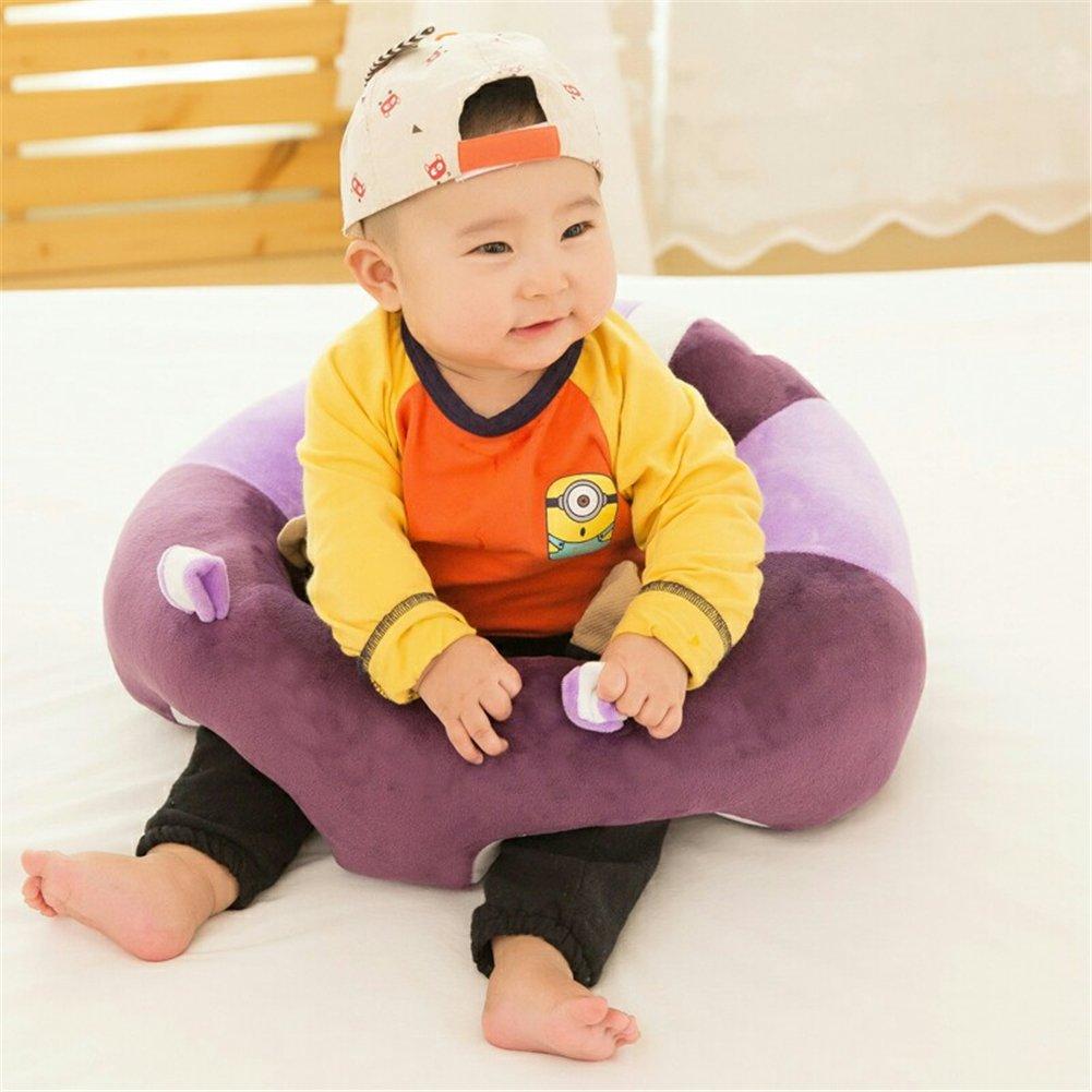 Leopard Print GSCH Baby Safe Sitting Chair Comfortable Nursing Pillow