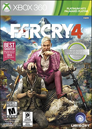 Far Cry 4 - Xbox 360 (Best Xbox 360 Games)