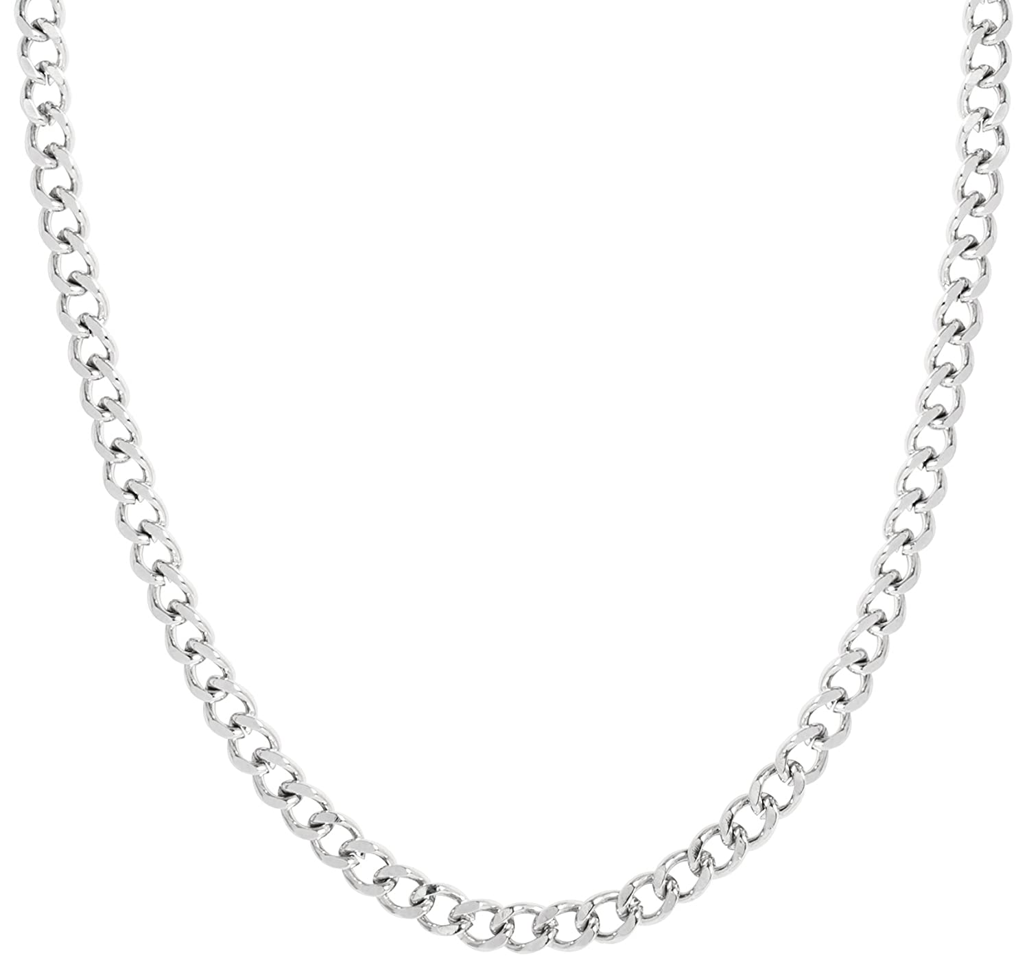 Curb Chain Necklace Stainless Steel Different Sizes For Your Individual Pendant Sun Lifestyle SL397