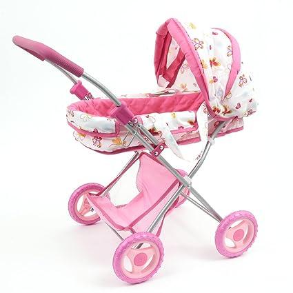 Mamatoy Mama MIA Glam, Cochecito de muñecas de Juguete, la fantasía de Las Mariposas