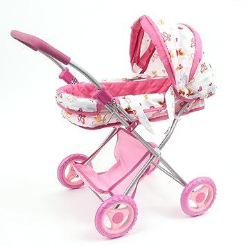 Amazon.es: Mamatoy Mama MIA Glam, Cochecito de muñecas de Juguete, la fantasía de Las Mariposas y Las Flores MMA06000: Juguetes y juegos
