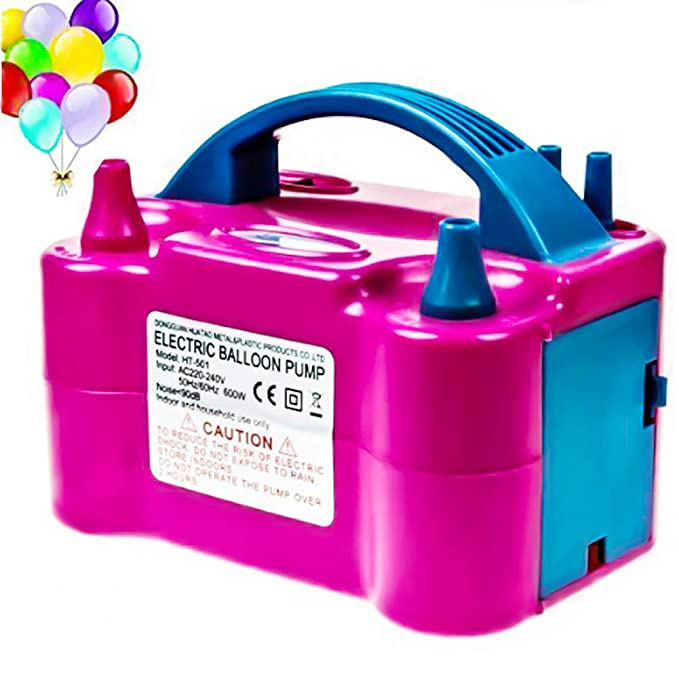 ytcwr Bomba eléctrica de gonfler al aire portátil, inflador, balón ...
