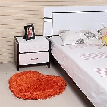 GCR® Teppich Teppiche Anti Rutsch Pfirsich Form Waschbar Dicker Lving  Zimmer Modern Einfach Couchtisch