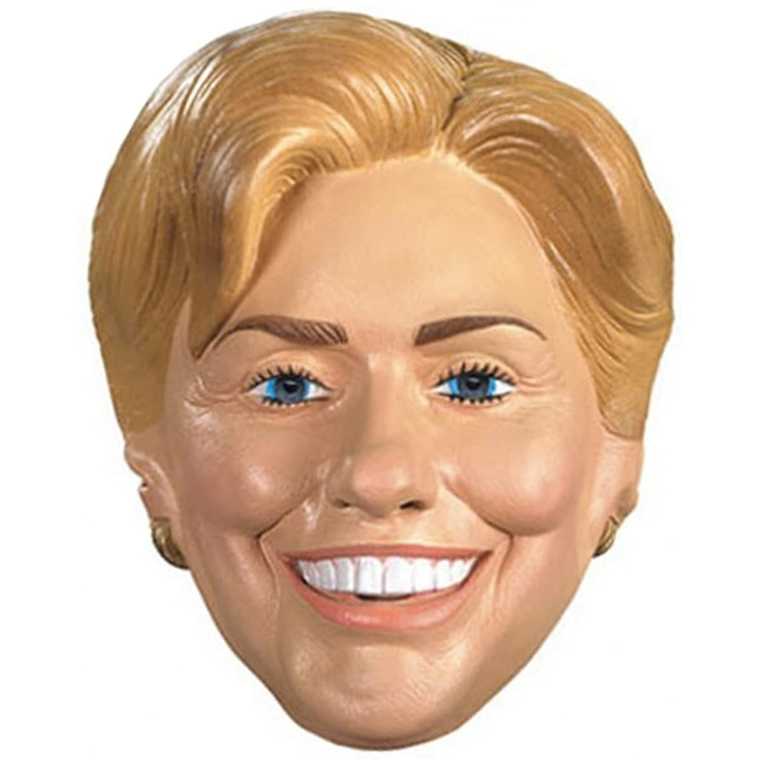 Amazon.com: Adult Hillary Rodham Clinton Costume Mask: Clothing