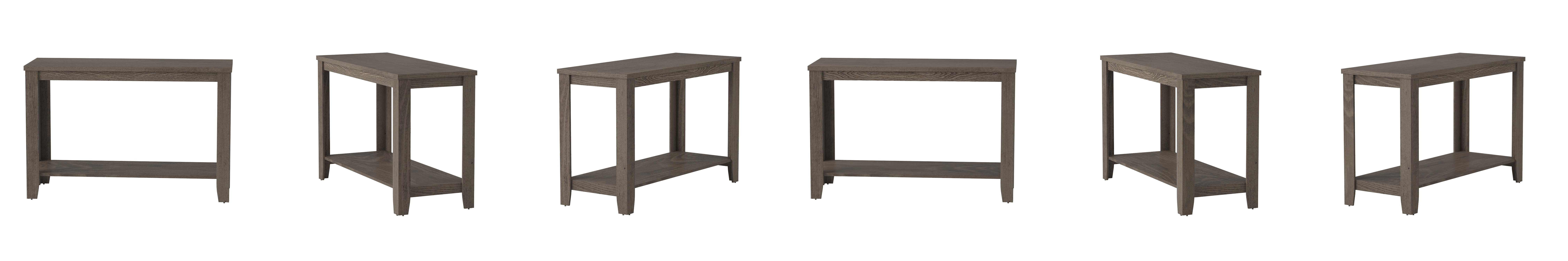 Amazon monarch specialties dark taupe reclaimed look sofa amazon monarch specialties dark taupe reclaimed look sofa console table kitchen dining geotapseo Image collections