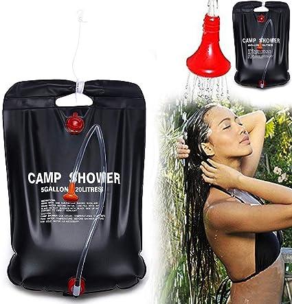 Solardusche 20L Camping Dusche Solar Heizung Shower Garten Dusche Outdoor DE