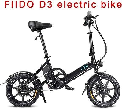 Bicicleta Eléctrica Plegable, 250w Motor 14