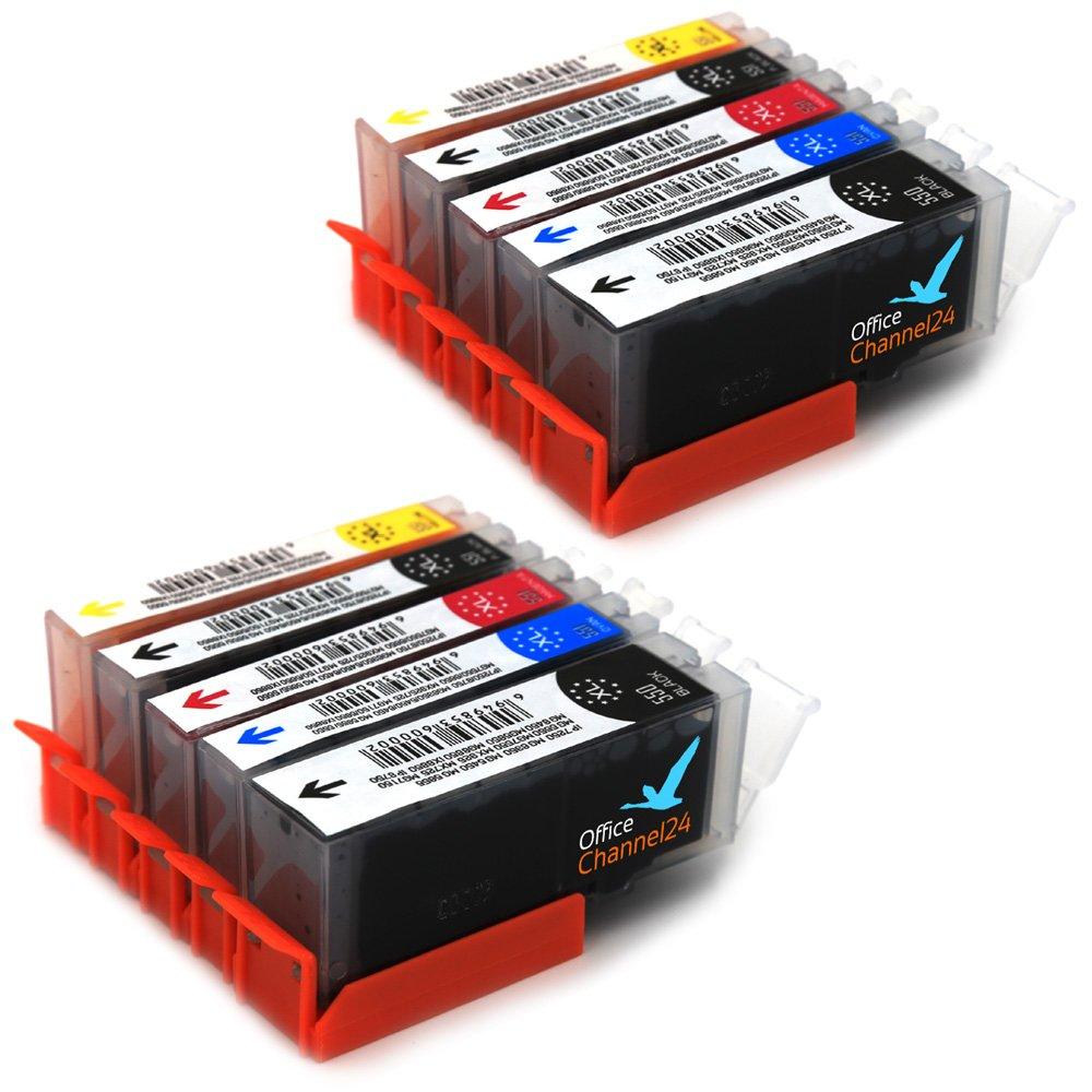 10 cartuchos de tinta con Chip para Canon Pixma IP7250 ...