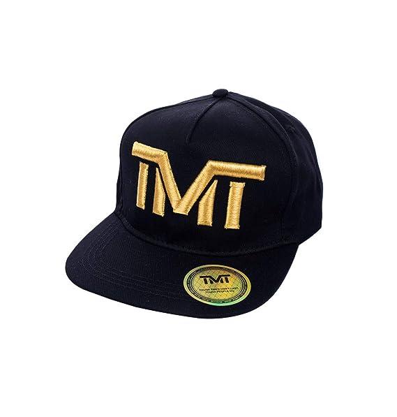 TMT Cappello Visiera Piatta Snapback Cappellino Rapper Nero Oro Italian Team   Amazon.it  Abbigliamento 3cab04302d95