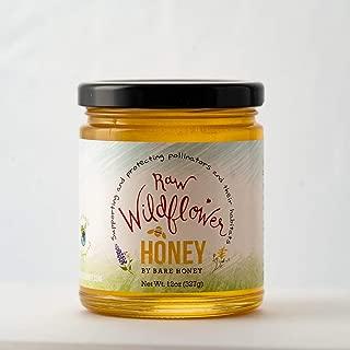 product image for Bare Honey | Raw Wildflower Honey | 12 oz Glass Jar
