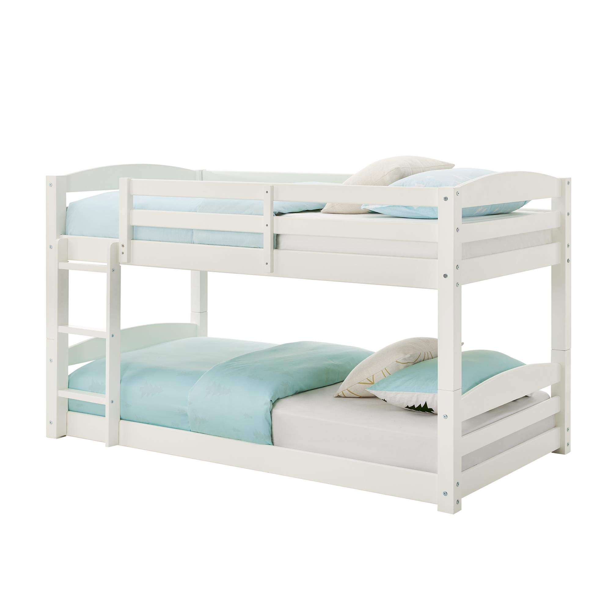 Max & Finn Bunk Bed, White, Black by Max & Finn