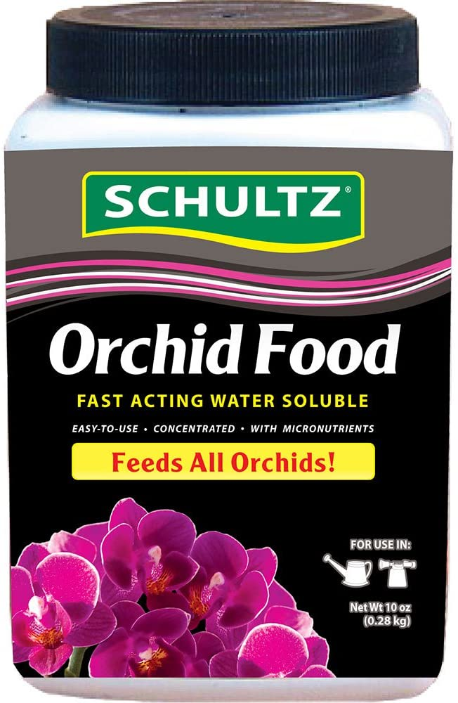 Schultz Orchid Food Water Soluble Plant Food 20-20-15, 10-Ounce