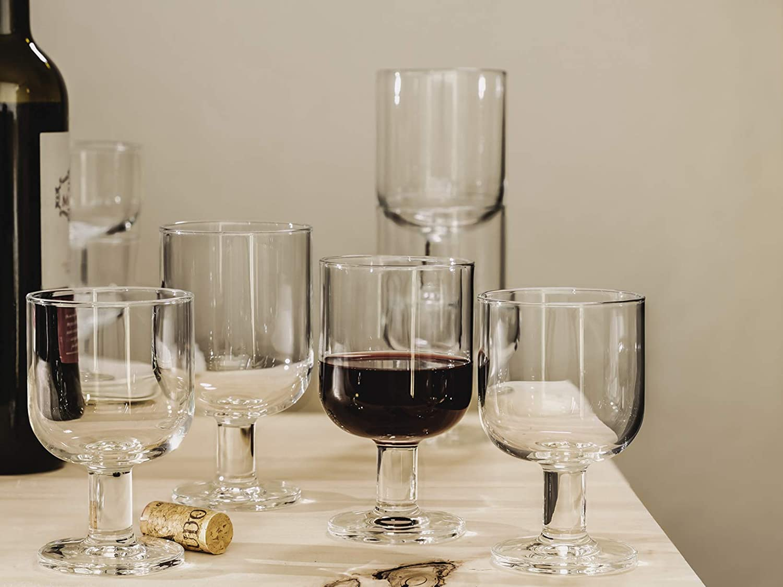 28 cl Bormioli Rocco 091229 Hosteria cristal paquete de 6 copas grandes