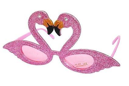 dad2f58c4b850 12 Pair Bulk LOT Pink Flamingo Bird Novelty Party Glasses - Costume Dressup  Sunglasses for Men or Women
