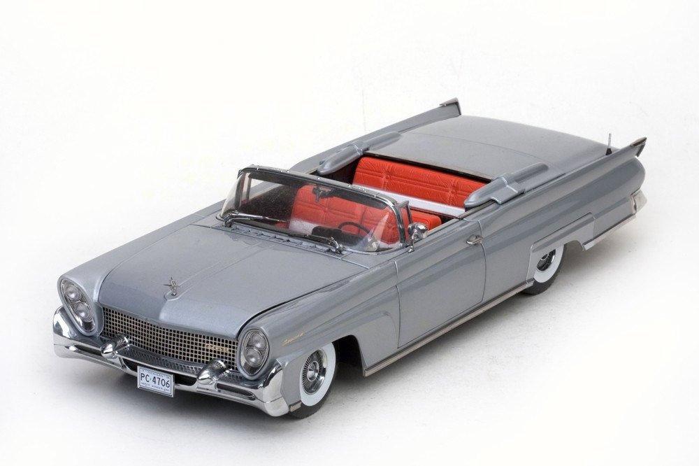 Lincoln Continental Mark III ConGrünible, metallic-hellgrau, 1958, Modellauto, Fertigmodell, Sun Star 1 18