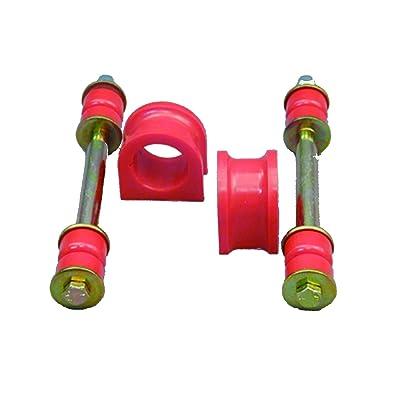 "Prothane 7-1168 Red 1.42"" Front Sway Bar Bushing Kit: Automotive"