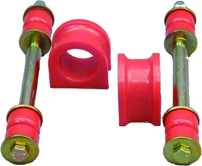 Prothane 7-1105 Red 1-1//16 Front Sway Bar Bushing Kit