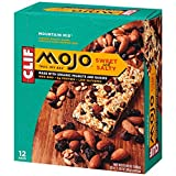 CLIF MOJO – Sweet and Salty Trail Mix Bar – Mountain Mix – (1.6 Ounce Snack Bar, 12 Count)