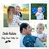 Baby Burp Cloths Pack of 5 by Dodo Babies + 2