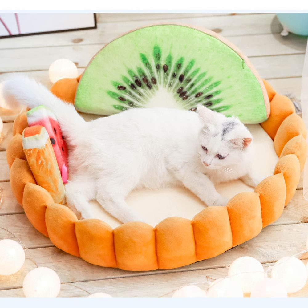 C(M) HJYCWW Pet Waterloo, Four Seasons Universal Kennel Small Dog Summer Washable Cat Mat Pet Bed Pet Supplies