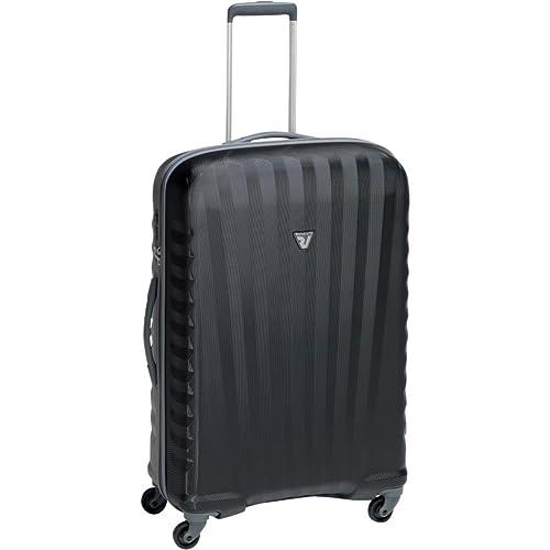 b38fec042 Roncato - RONCATO UNO - ZIP 4 W - 5082 - Trolley Medio con 4 ruedas - Talla  : 71X44X25 - Color : gris/negro: Amazon.es: Equipaje