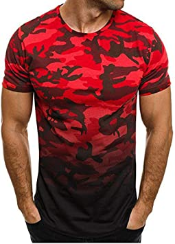 Camiseta Deportiva Hombre de Manga Corta Transpirable y Secado Rápido Ideal para Running Gimnasio Camisetas de hombre de Manga Corta Cuello en V Top Blusa Casual Deportivas Entallada T-Shirt Camisa Jodier: Amazon.es: