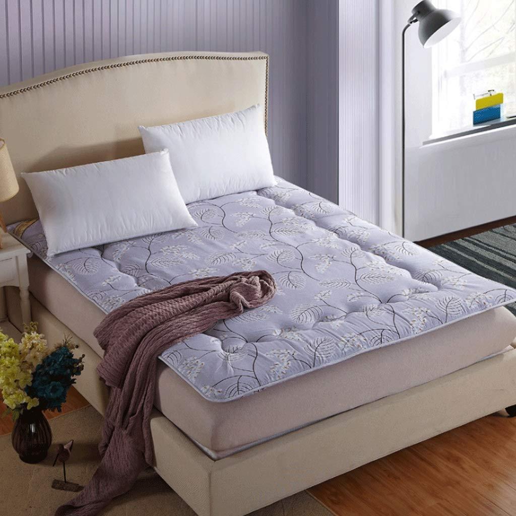8 180X200cm Student Dormitory Mattress Home Tatami Yoga Folding Sleeping Pad (color   14, Size   120X200cm)