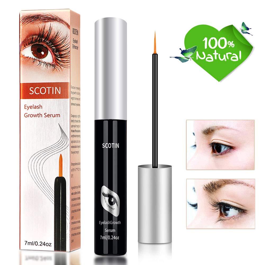 Wimpernserum und Augenbrauen Serum OKEEY - Die beste Lösung für vollere, länger und Dicker Lashes (7ml)