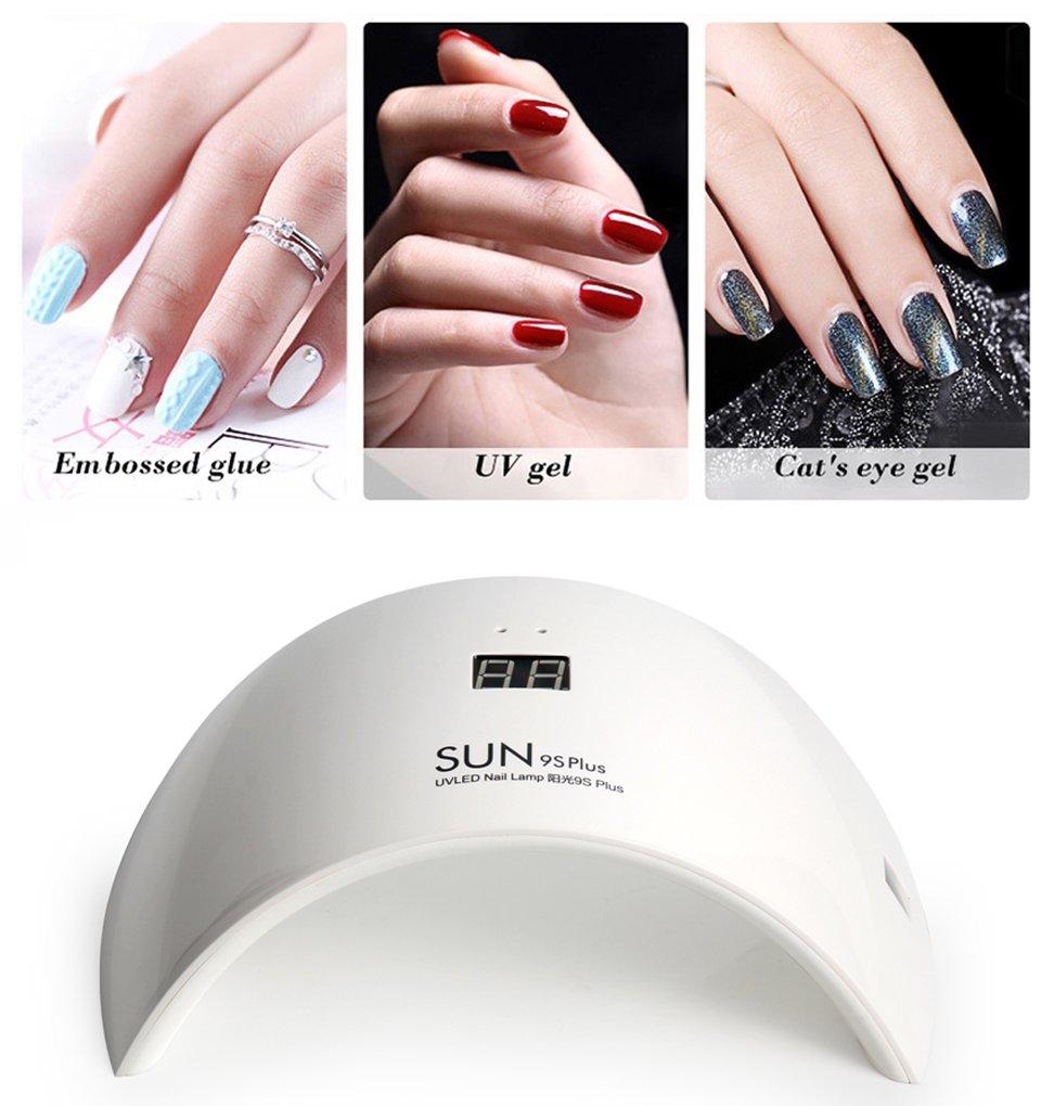 Amazon.com : 36W LED UV Nail Dryer Curing Lamp for Fingernail ...