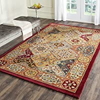 Safavieh Heritage Collection HG512A Handcrafted Traditional Oriental Multicolored Premium Wool Area Rug (6 x 9)