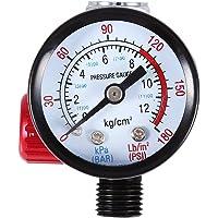 """1/4"""" BSP Régulateur Pression d'Air Automatique Jauge Manomètre Pression pour Pistolet et Outils Pneumatiques"""