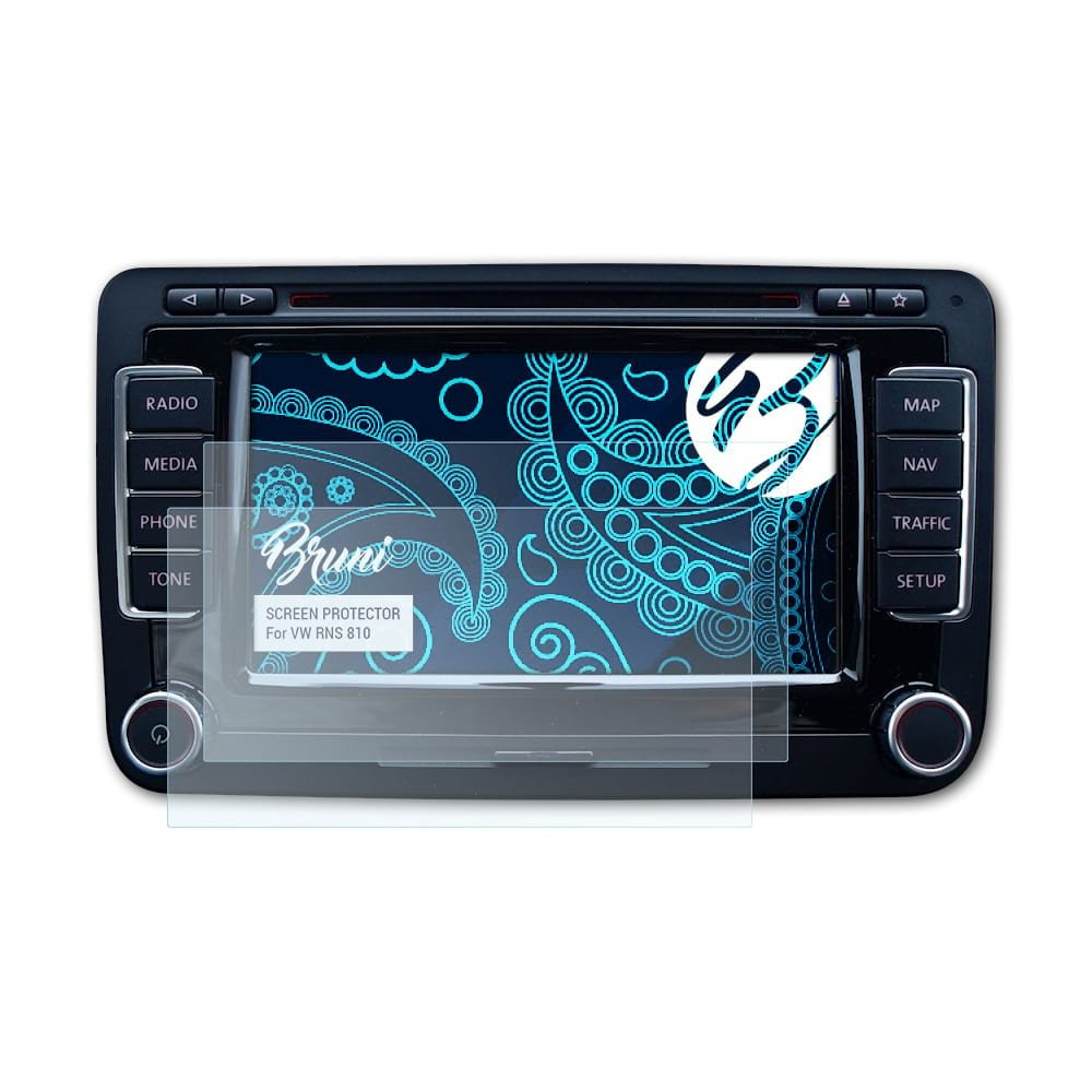 Bruni Screen Protector for VW RNS 810 Protector Film: Amazon.co.uk:  Electronics