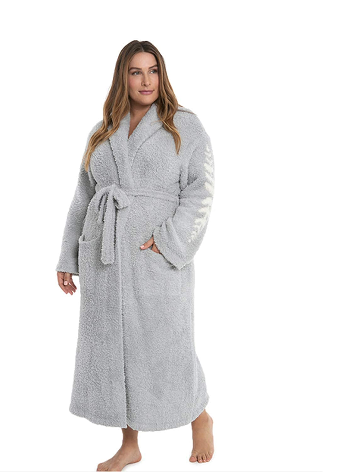 0bdb113286 Amazon.com  Barefoot Dreams CozyChic Inspiration Bath Robes for Men and  Women