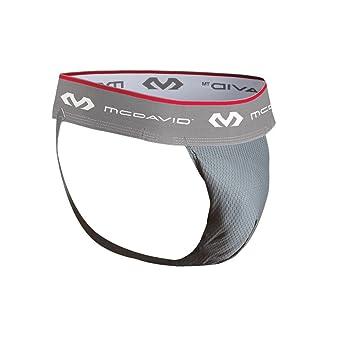 Mcdavid 3300 Cuquilla Flexible, Hombre, Gris/Rosa, S