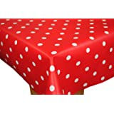 New American Diner Pvc Oilcloth Tablecloth 160cm X 140cm