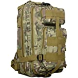 Z ZTDM Outdoor Tactical Molle Backpack Army Military Small Rucksacks 25L 3 Day Assault Pack for Camping Hiking Trekking fishing Waterproof