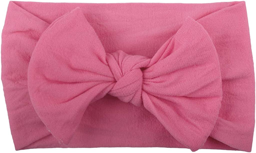 Super Stretchy Knot Soft Nylon Baby Headbands For Newborn Baby Girls Infant Toddlers Kids Headwrap