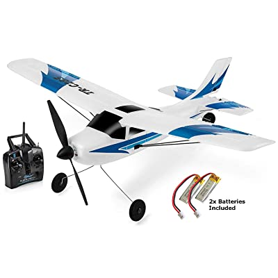 Top Race Remote Control Airplane, 3 Channel RC Airplane Aircraft Built in 6 Axis Gyro System Super Easy to Fly RTF (TR-C285): Toys & Games