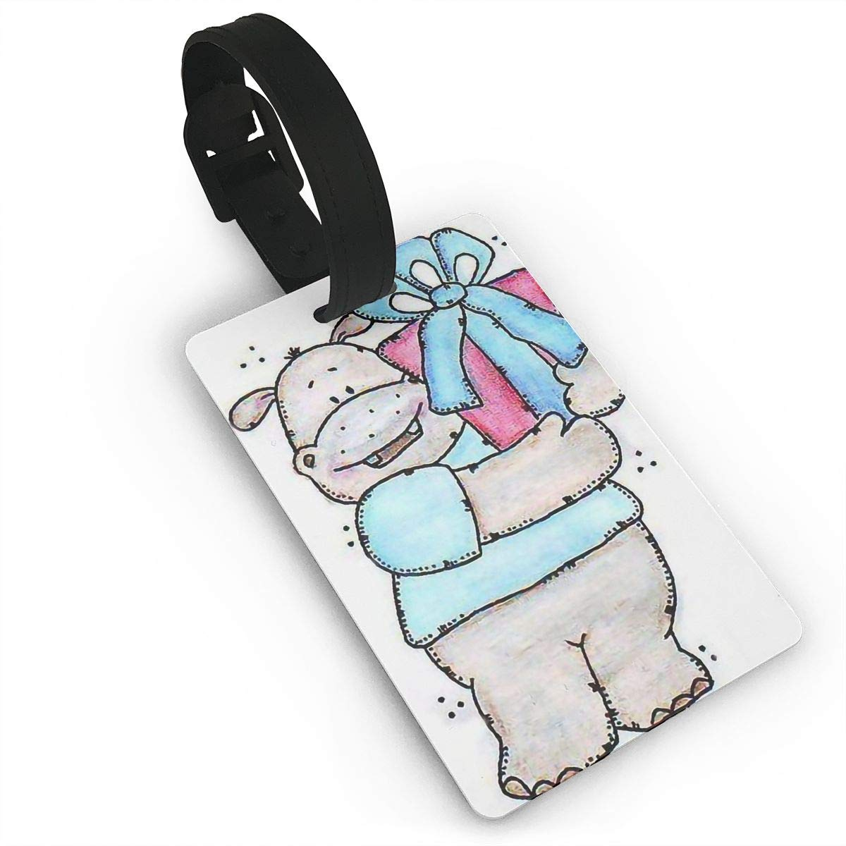 Hippos Travel Tags For Travel Tags Accessories 2 Pack Luggage Tags