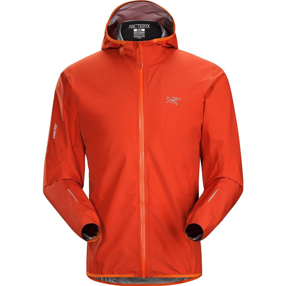 Arcteryx Norvan Jacket – Men 's B0163TSNJG S Vermillion Vermillion S