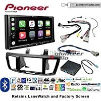 Volunteer Audio Pioneer AVH-2440NEX Double Din Radio Install Kit with Apple CarPlay, Android Auto and Bluetooth Fits 2013-2015 Honda Accord